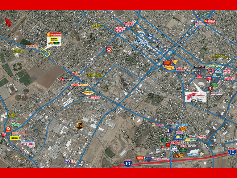 N Valley & McClure, Las Cruces, New Mexico 88001
