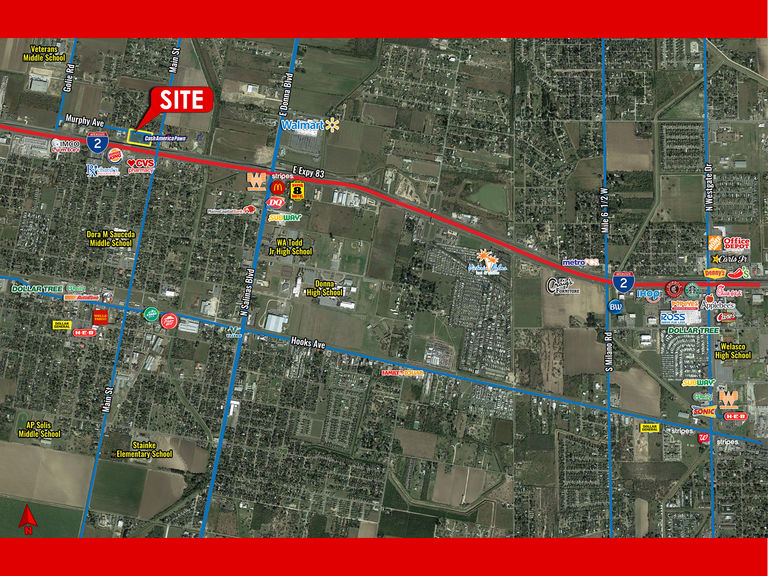 804 W Expressway 83, 3-4, Donna, Texas 78537