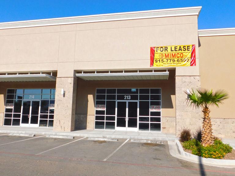 6351 S Desert Blvd, Building #A6, Suite #213-214, El Paso, Texas 79932