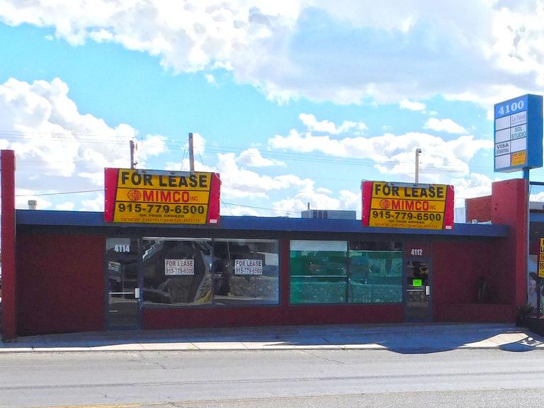 4112-4114 Montana Ave, El Paso, Texas 79903