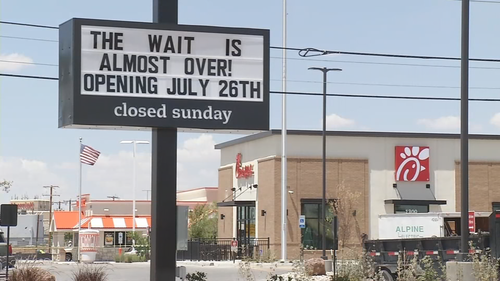 Airway Chick-Fil-A location ready for grand opening